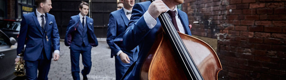 Hire a jazz band or big band